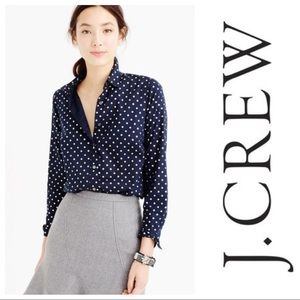 J. CREW • Perfect fit button down shirt